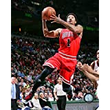 "Derrick Rose Chicago Bulls 2015 NBA Playoff Action Photo (Size: 8"" x 10"")"