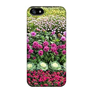 Defender Case For Iphone 5/5s, Beautiful Flowers Decorate Pattern