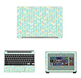 """Decalrus - Protective Decal Skin skins Sticker for Asus Chromebook Flip C100PA (10.1"""" Screen) case cover wrap ASchrmbookC100PA-220"""
