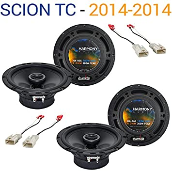 511jx%2B5U8IL._SY355_ amazon com scion tc 2014 2014 factory speaker replacement 2014 Scion tC Radio Rear at webbmarketing.co