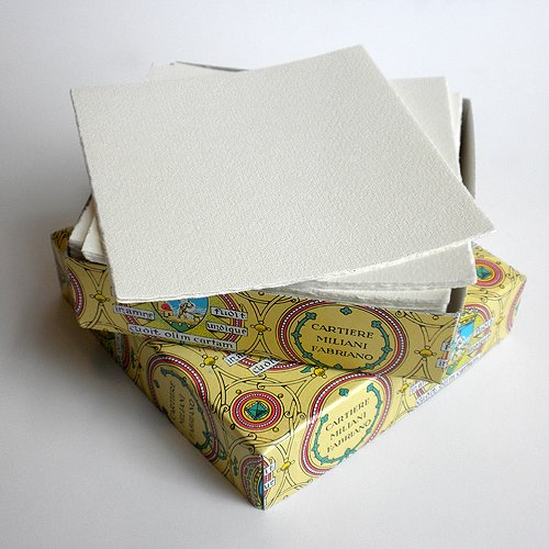 Fabriano Medioevalis Single Card 4.75x4.75 Inch Box of 100