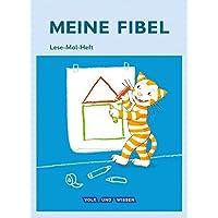 Meine Fibel - Aktuelle Ausgabe: 1. Schuljahr - Lese-Mal-Heft: Mit Mal-Schablone