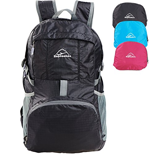 Hopsooken 30L Lightweight Travel Backpack Waterproof Packable Sport Hiking Daypack