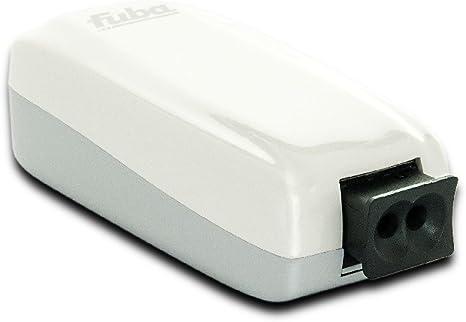 Fuba webfiber 1110 Luz Escalera de adaptador de red doméstica 1 x POF 1 x RJ45 1 Gbit/s: Amazon.es: Electrónica