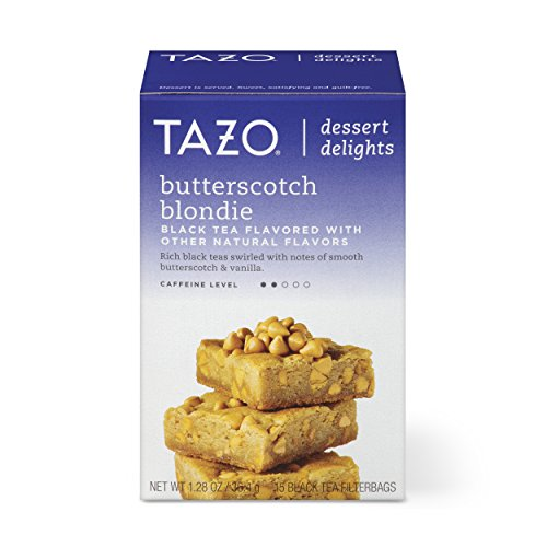 Tazo Filterbag Tea, Butterscotch Blondie, 15 Ct (Pack of 6)