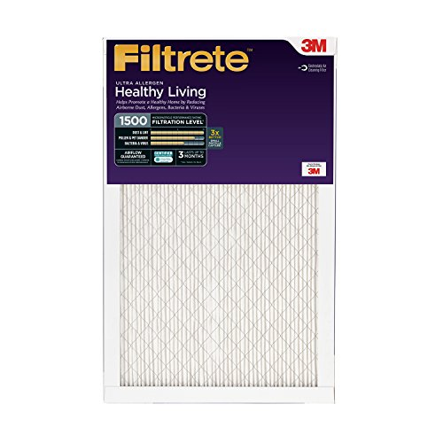 Filtrete Healthy Living Ultra Allergen Reduction Filter, MPR 1500, 14 x 20 x 1-Inches, 2-Pack