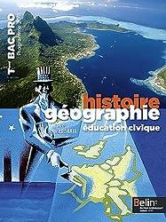 Histoire-géographie éducation civique Tle Bac Pro : Programme 2011