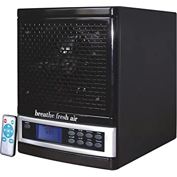 Breathe Fresh Premium Air Purifier w/ UV, Ozone Power, Ionizer Odor Reducer, PCO Filtration Cleaning Timer