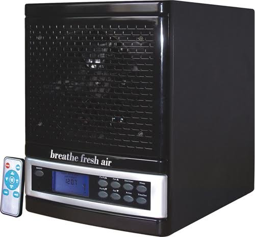 Air Purifier HEPA Breathe Fresh Air Cleaner Ozone Generator w/ timer Deluxe Issue