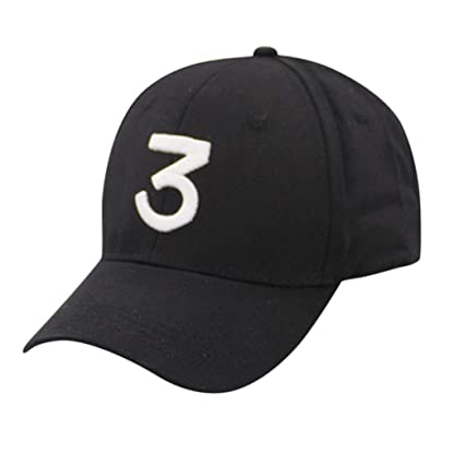 653b489e083 Amazon.com  KFSO Women Men Vintage Number 3 Twill Cotton Baseball Cap  Vintage Adjustable Dad Hat (Black)  Arts
