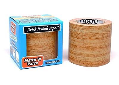 Match 'N Patch Realistic Repair Tape, Natural Oak.