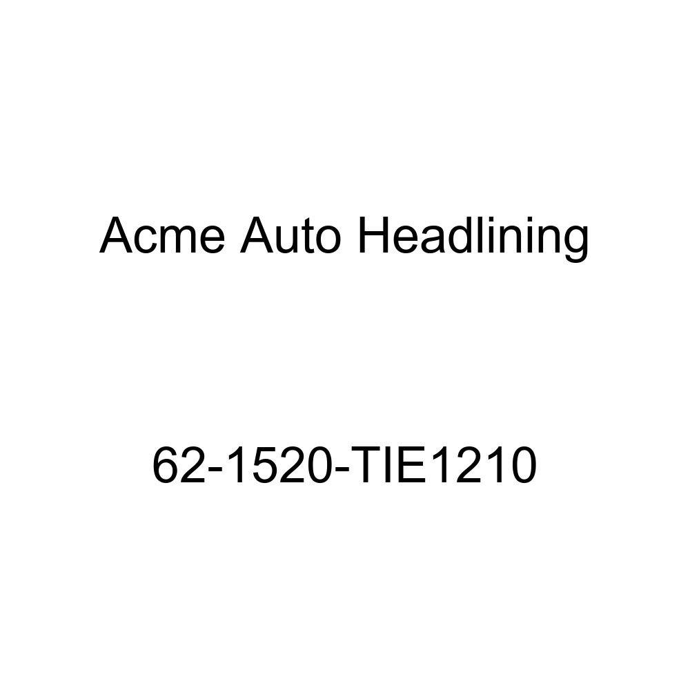 Acme Auto Headlining 62-1520-TIE1210 Maroon Replacement Headliner Pontiac Tempest 2 Door Sport Coupe 5 Bow