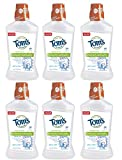 Tom's of Maine Children's Anticavity Fluoride Rinse, Juicy Mint, 16 Ounce ( Pack of 6 )