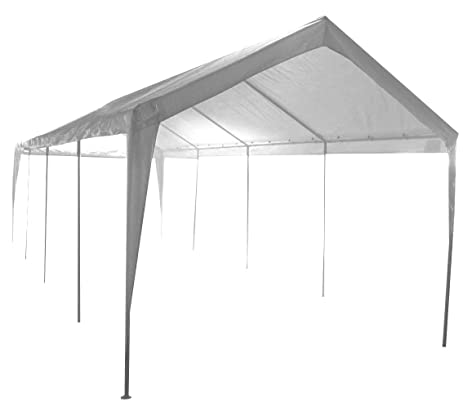 Impact Canopy 10x27 Garage Canopy Tent Impact Canopies Portable 8 Leg Outdoor Carport Sun and Rain  sc 1 st  Amazon.com : canopy portable - memphite.com