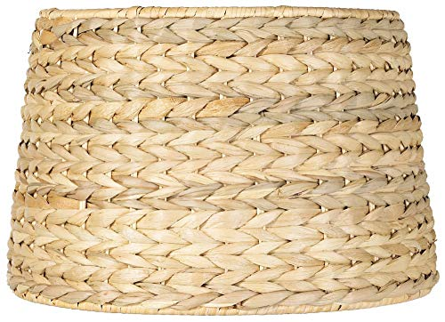 Woven Seagrass Drum Shade 10x12x8.25 (Spider) - -