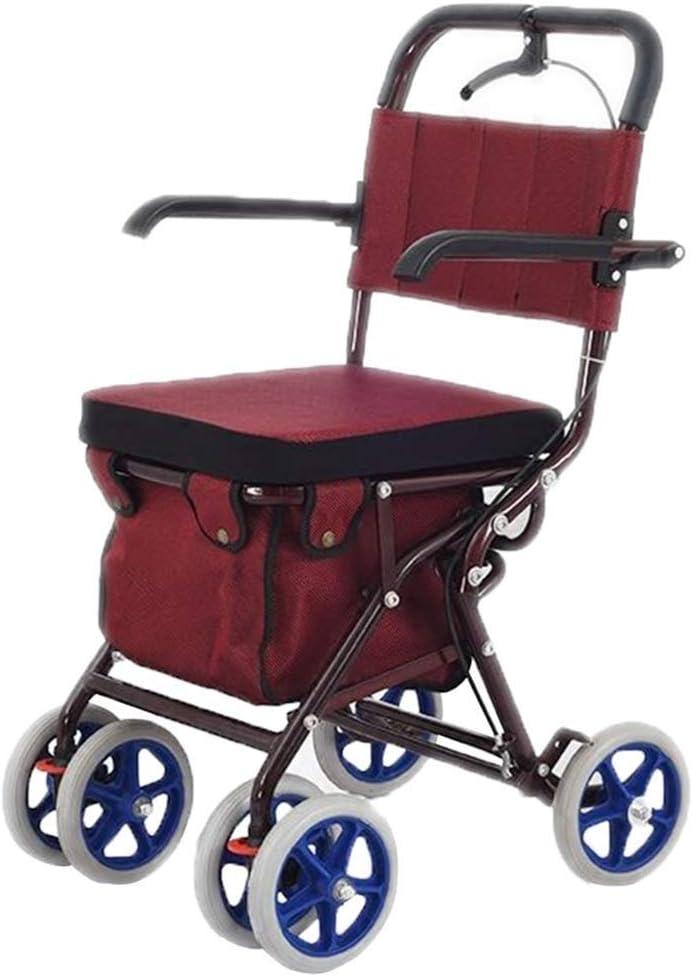 Amazon.com: Carro de cuatro ruedas plegable con ruedas para ...