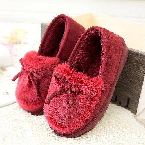 Y-Hui Autunno e Inverno Moda scarpe scarpe studentessa un pigro scarpe,36 (codice standard),Gules