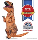 cool costume for kids - Rubie's Jurassic World T-Rex Inflatable Costume, Child's Size Small