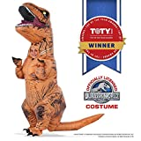 Rubies Costume Jurassic World T-Rex Inflatable Child Costume for 5 to 7 Years old
