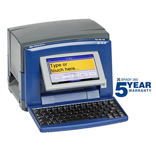 Brady S3100 Sign and Label Printer - Prints Industrial Labels and Facility Signs - -