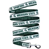 Pets First Michigan State Spartans Pet Dog Collar Leash Large