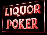 Liquor Poker Bar Led Light Sign