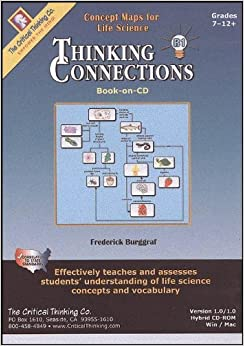 Book Thinking Connections Book B: Concepts Maps for Life Science by Frederick Burggraf (1998-03-02)