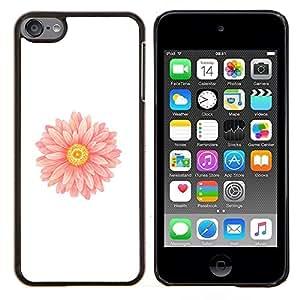 Jordan Colourful Shop - Daisy Flower Petal Easter Spring For Apple iPod Touch 6 6th Generation Personalizado negro cubierta de la caja de pl????stico
