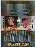 2007 Donruss Elite Extra Edition College Ties Gold #1 Daniel Moskos NM-MT /500 Pirates