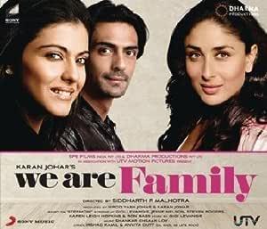 We Are Family : Kajol, Shankar Ehsan Loy: Amazon.es: Música