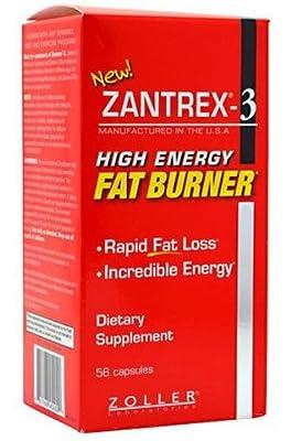 Zantrex-3 High Energy Extreme Fat Burner Capsules, 112 Count (ZAN-ik