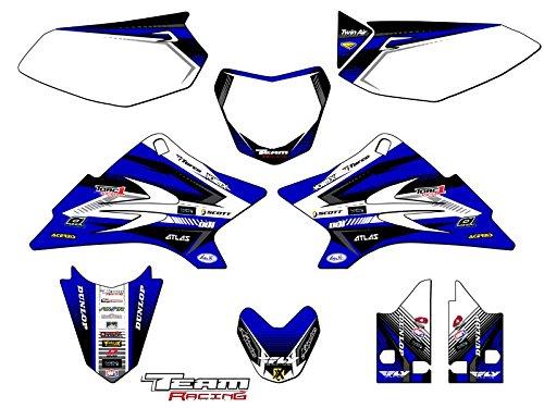 Team Racing Graphics kit for 2006-2018 Yamaha TTR 50, ANALOG Complete Kit (Graphic Kit Ttr50)