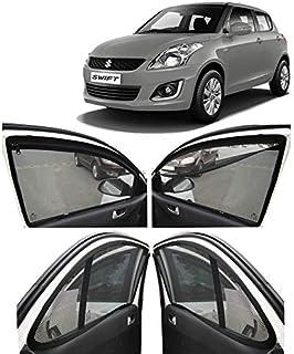 Autofact Magnetic Window Sun Shades For Maruti Suzuki Swift