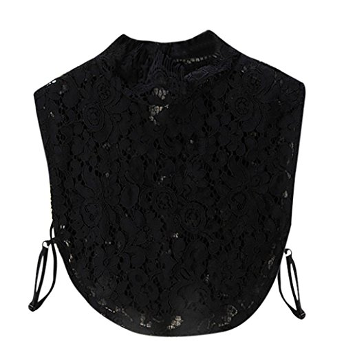 Lotus Broderie Intra Gaze Revers Chemise Rose Col Ours Chemisier 2018 Decollete VTements 2black Feuille Winwintom DTachable Imprim Col Broderie Gilet Dentelle Auricelle Ray Soie Faux xwF7v