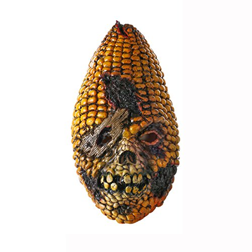 Costume Thriller Diy (Halloween Corn Latex Mask Ugly Prop Masquerade Costumes Favor DIY Cosplay)