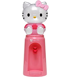 Toponechoice Mini Cartoon Water Dispenser Fountain Drinking 8 Glasses Hello Kitty Mickey Drinkware Bottle 2 Liters