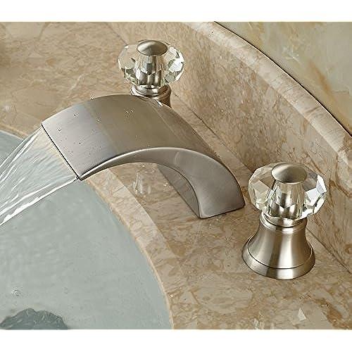 Crystal Handles for Bathroom Faucets: Amazon.com