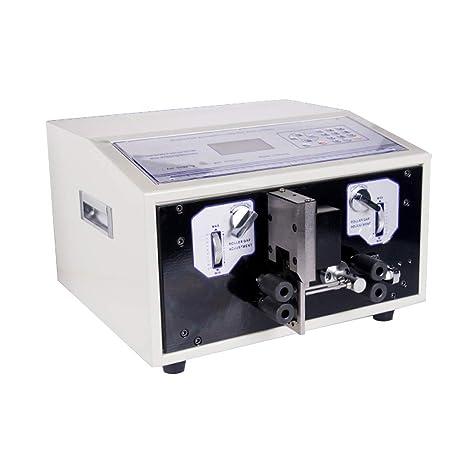 Nueva swt508-sdb short-wire tipo ordenador para desmontar pelar máquina de corte de
