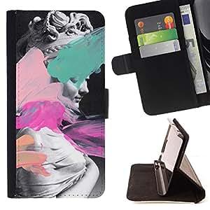 /Skull Market/ - STATUE ART VENUS APHRODITE PAINT ANCIENT WOMAN For Samsung Galaxy S6 - Caja de la carpeta del tir???¡¯???€????€???????