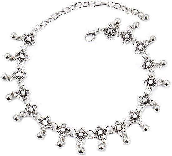 Hot Women Girls 925 Sterling Silver Plated Shining Chain Anklets Bracelet