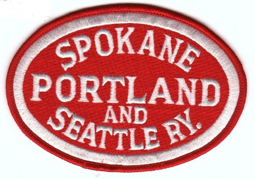 (Railroad 100% Embroidered Patch Collectible - Spokane Portland and Seattle Ry.)