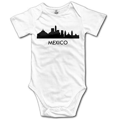 Amazon Com Mexico City Skylines Silhouettes Boys Girls Baby Onesie