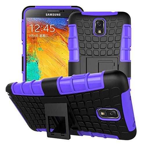 Funda Libro para Asus Zenfone Selfie ZD551KL - Ycloud Doble protección del material duro de PC + TPU , Función de Soporte ,Estuche extraíble para el teléfono (Verde) Púrpura