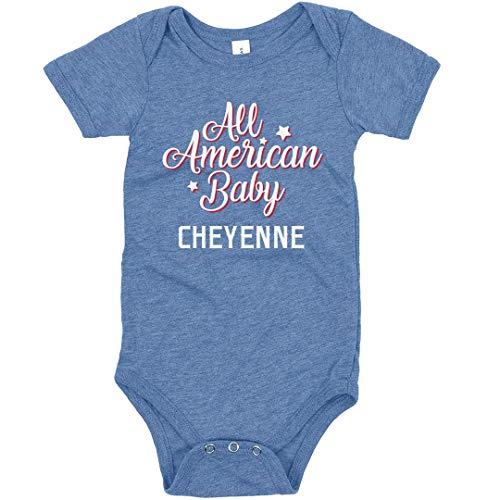 All American Baby Cheyenne: Infant Triblend Bodysuit]()