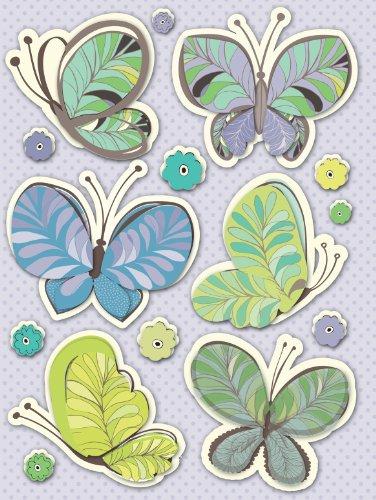Paisley Grand - K&Company PoppySeed Butterfly Paisley Grand Adhesion