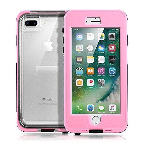 GEARONIC TM Durable Swimming Waterproof Shockproof Dirt Snow Proof Case for Apple iPhone 7 Plus - - Jordan Burberry