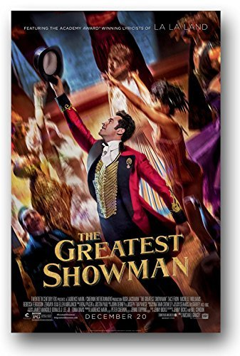 The Greatest Showman Poster - Movie Promo 11 x 17 Hugh Jackman Hat