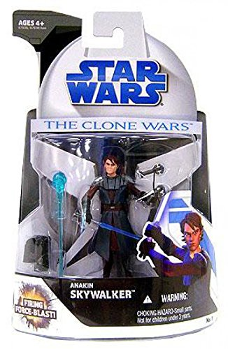 Wars Figures Clone Wars Star (Star Wars The Clone Wars Anakin Skywalker Action Figure)