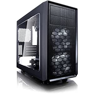 Fractal Design ATX Mid Tower (FD-CA-FOCUS-BK-W)