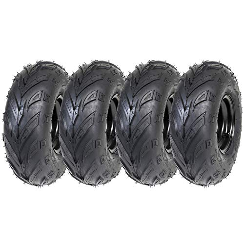 ZXTDR Pack of 4 ATV Tires 145/70-6 Wheels with Rims for sale  Delivered anywhere in USA